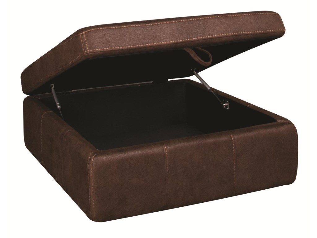 Morris Home GaryGary Storage Ottoman with Casters