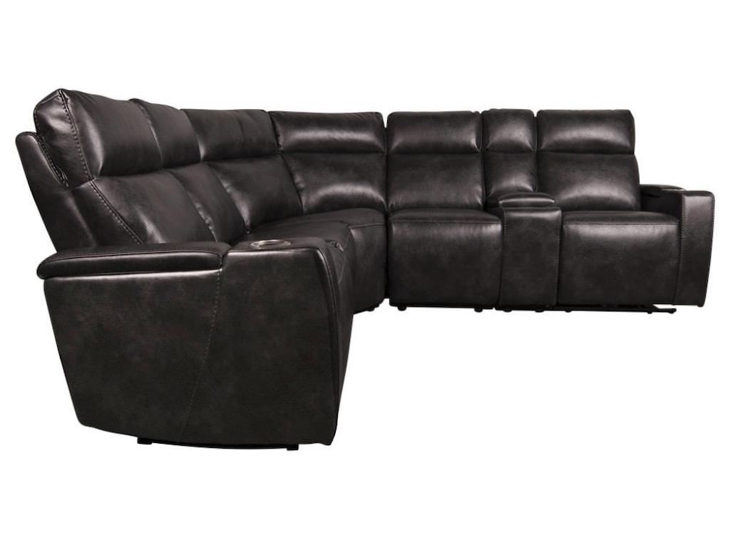 Morris Home GlendonGlendon Power Sectional Sofa