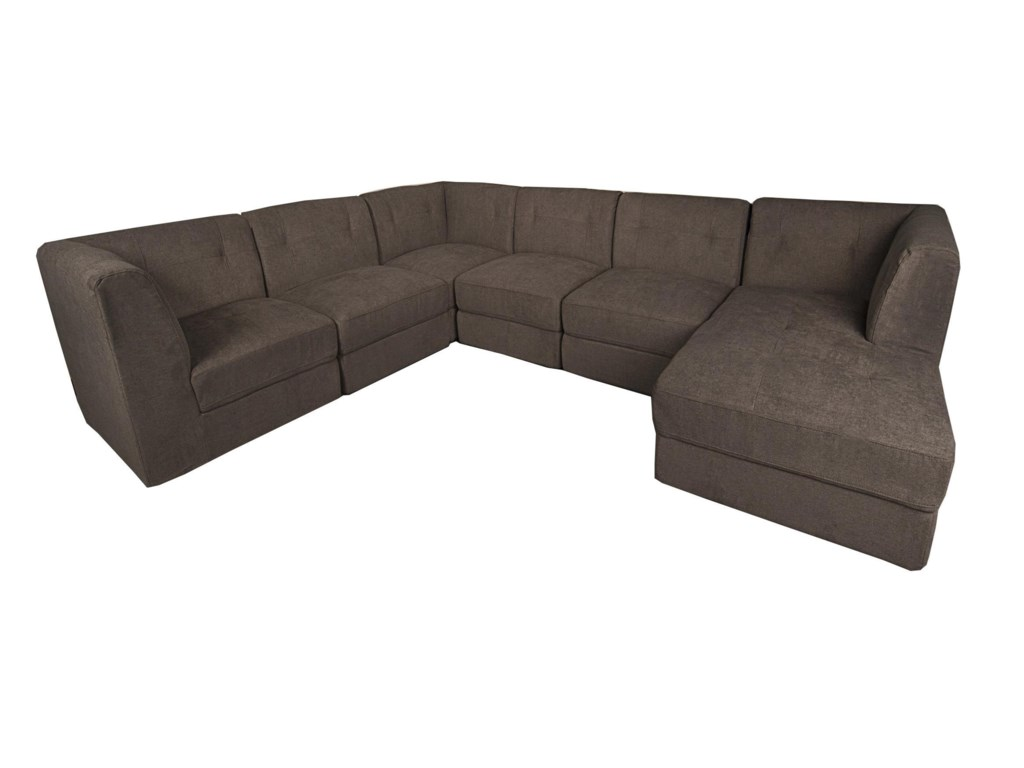 Lux 6-Piece Sectional | Morris Home | Sectional Sofas