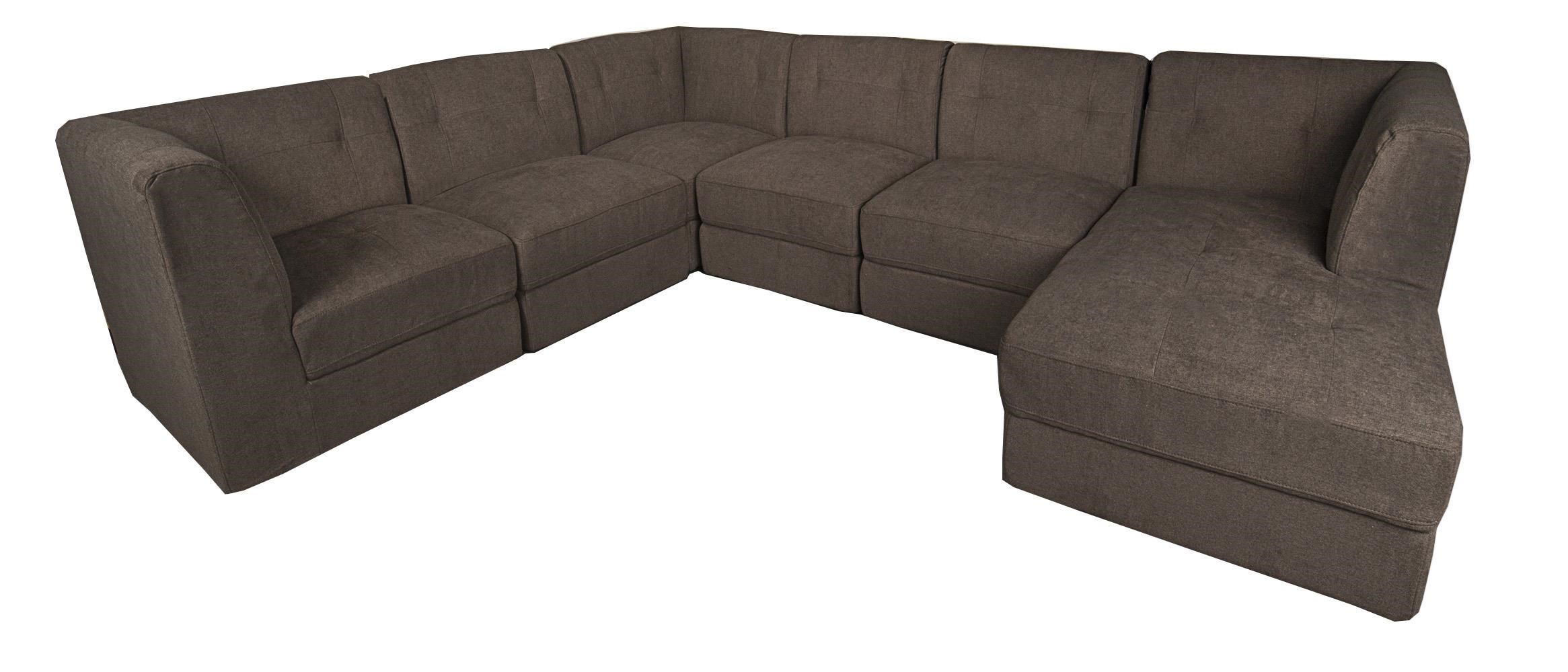 Nice Morris Home LuxLux 6 Piece Sectional ...