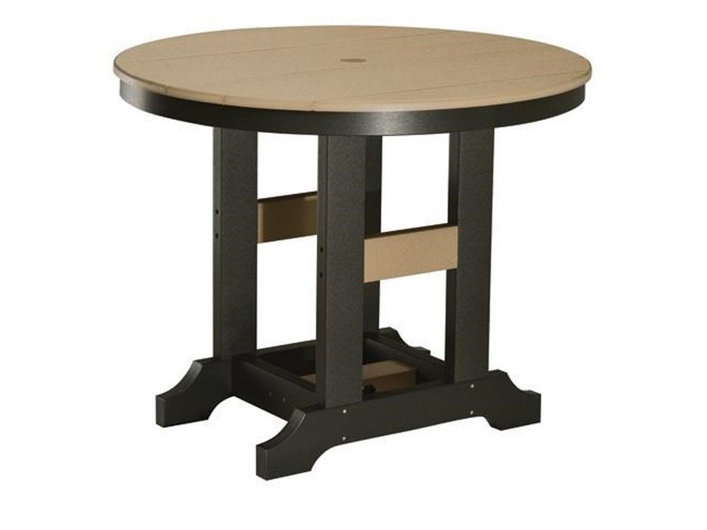 Berlin Gardens Cozi Back Dining 38 Round Table Westrich Furniture