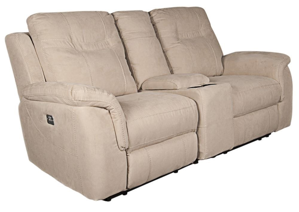 Morris Home PrattPratt Power Loveseat