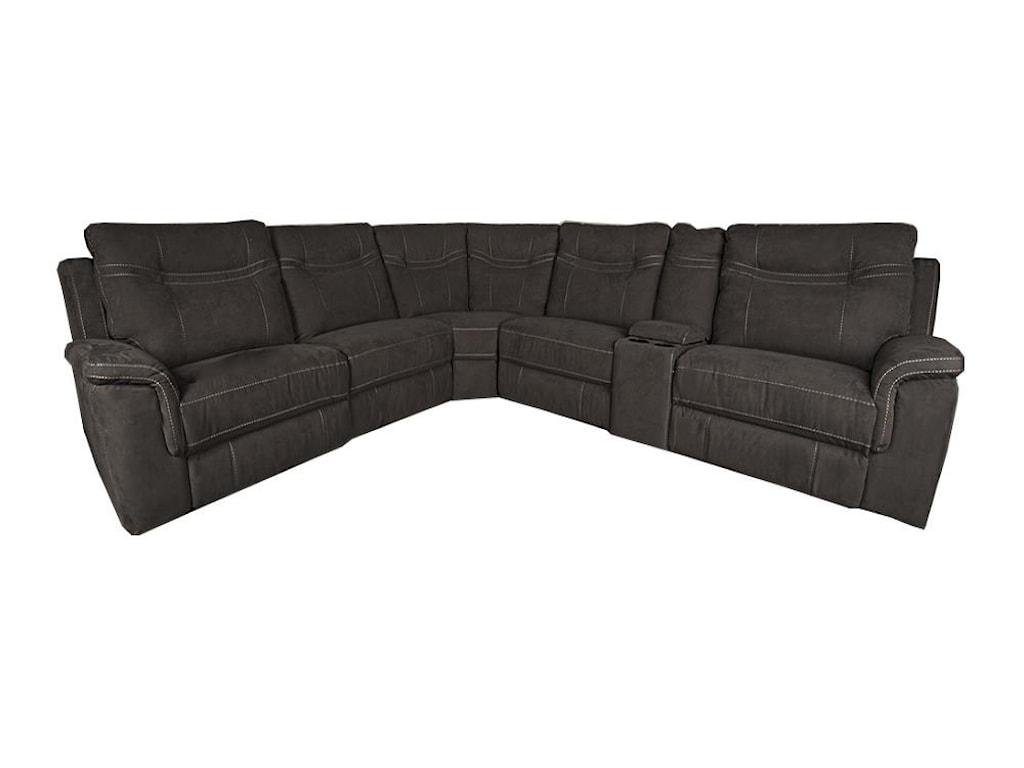 Morris Home PrattPratt Power Sectional Sofa