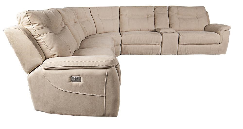 Morris Home PrattPratt 6-Piece Power Sectional