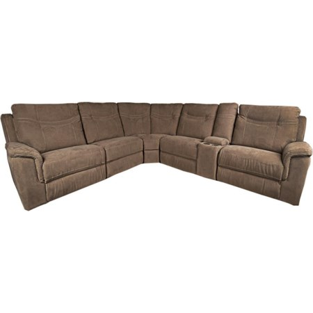 Pratt 6-Piece Power Sectional