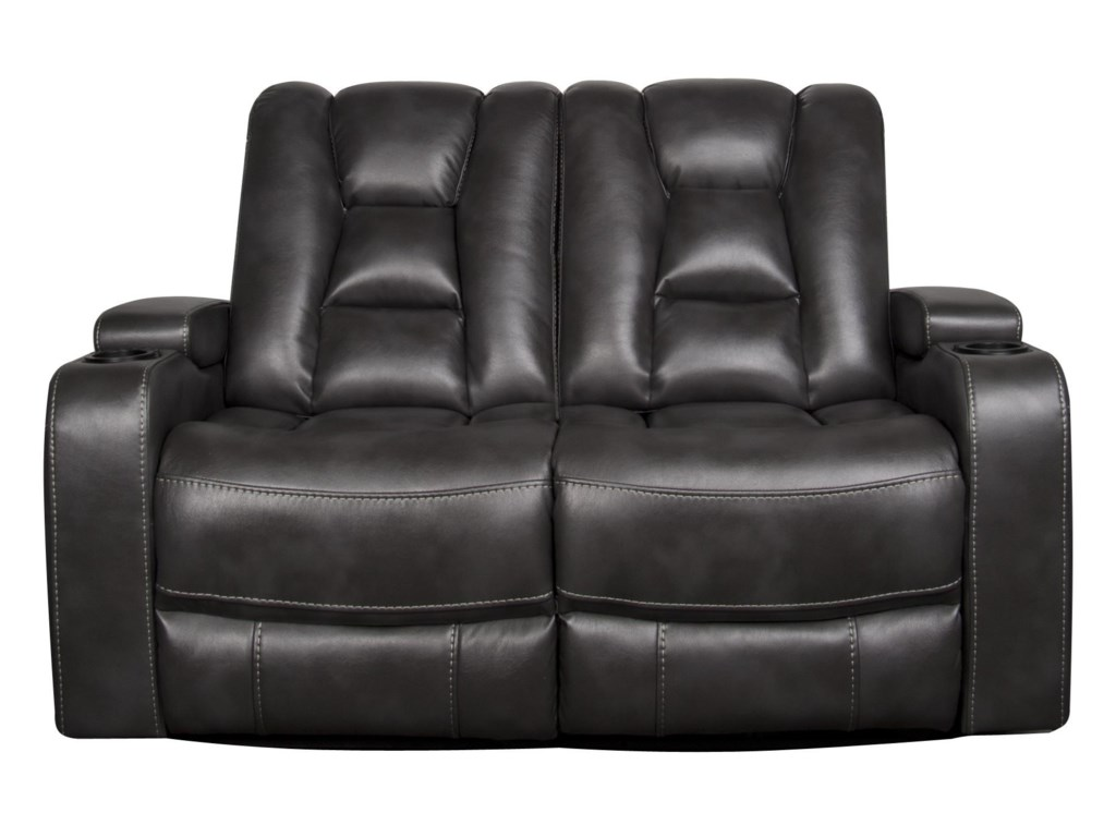 reclining loveseats cup holders delaney adams furniture web with loveseat collections power