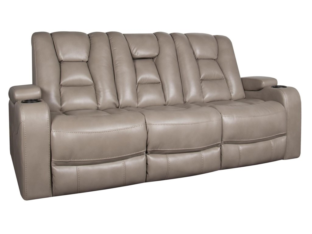 Morris Home RhinehartRhinehart Power Sofa with Headrest