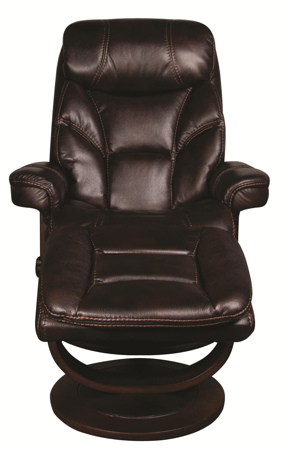 ... Morris Home SaulSaul Swivel Recliner With Ottoman ...