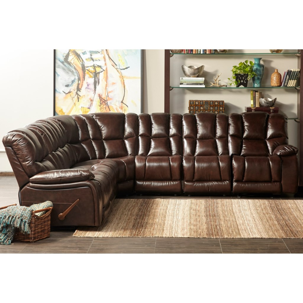 Cheers Sofa Ux1013m Qs 7 Piece Motion Sectional With Drop Down  ~ Sectional Reclining Sofa