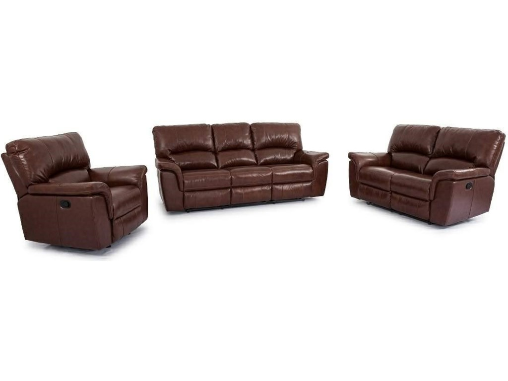 Cheers Dual Reclining Leather Sofa Refil Sofa