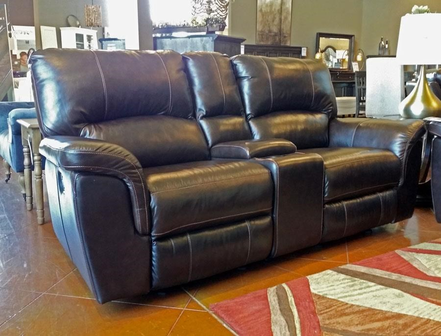 Cheers Sofa Brandy 3 Piece Leather Reclining Console Loveseat - Great American Home Store - Reclining Love Seats & Cheers Sofa Brandy 3 Piece Leather Reclining Console Loveseat ... islam-shia.org