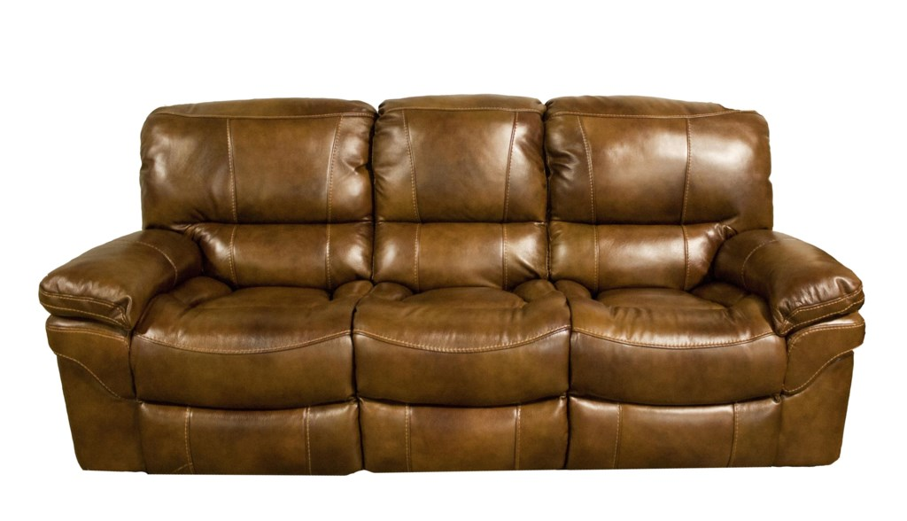Cheers Sofa X9335m Casual Power Reclining Sofa With Pillow Top  ~ Leather Sofa Pillow Top Arms