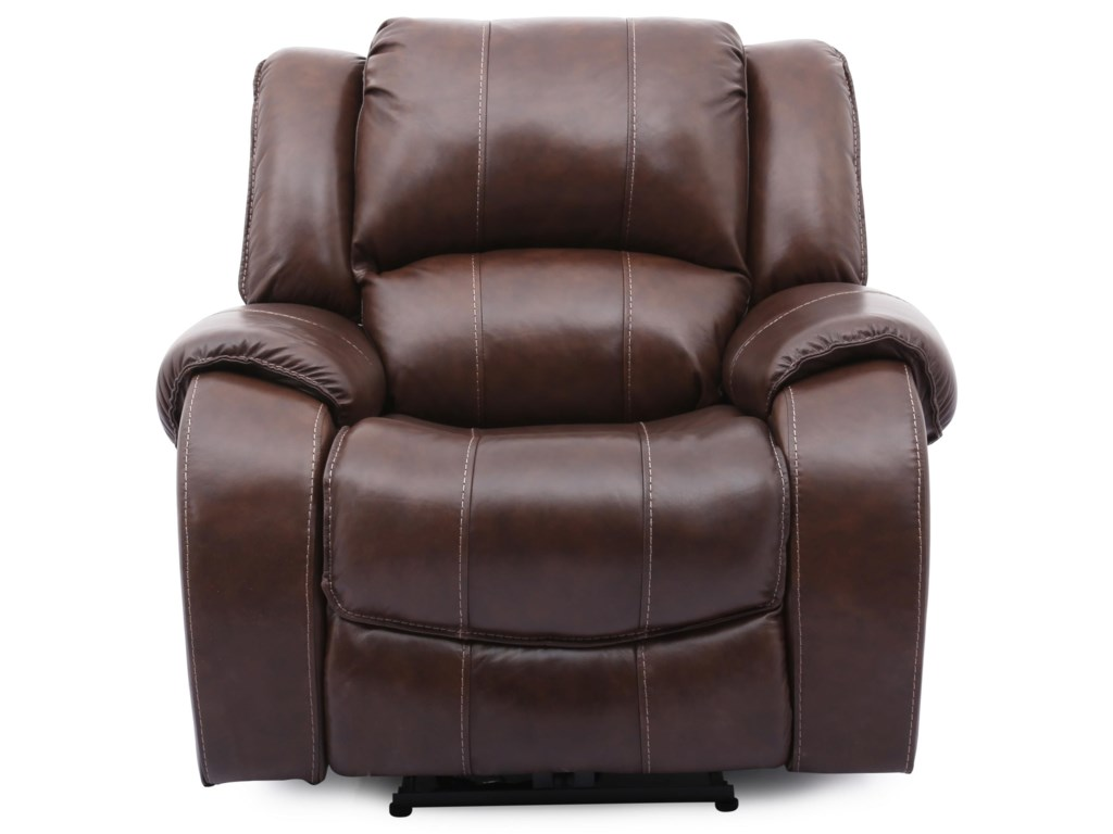 Cheers Sofa EvanBrown Lthr Pwr Recliner w/Pwr Head