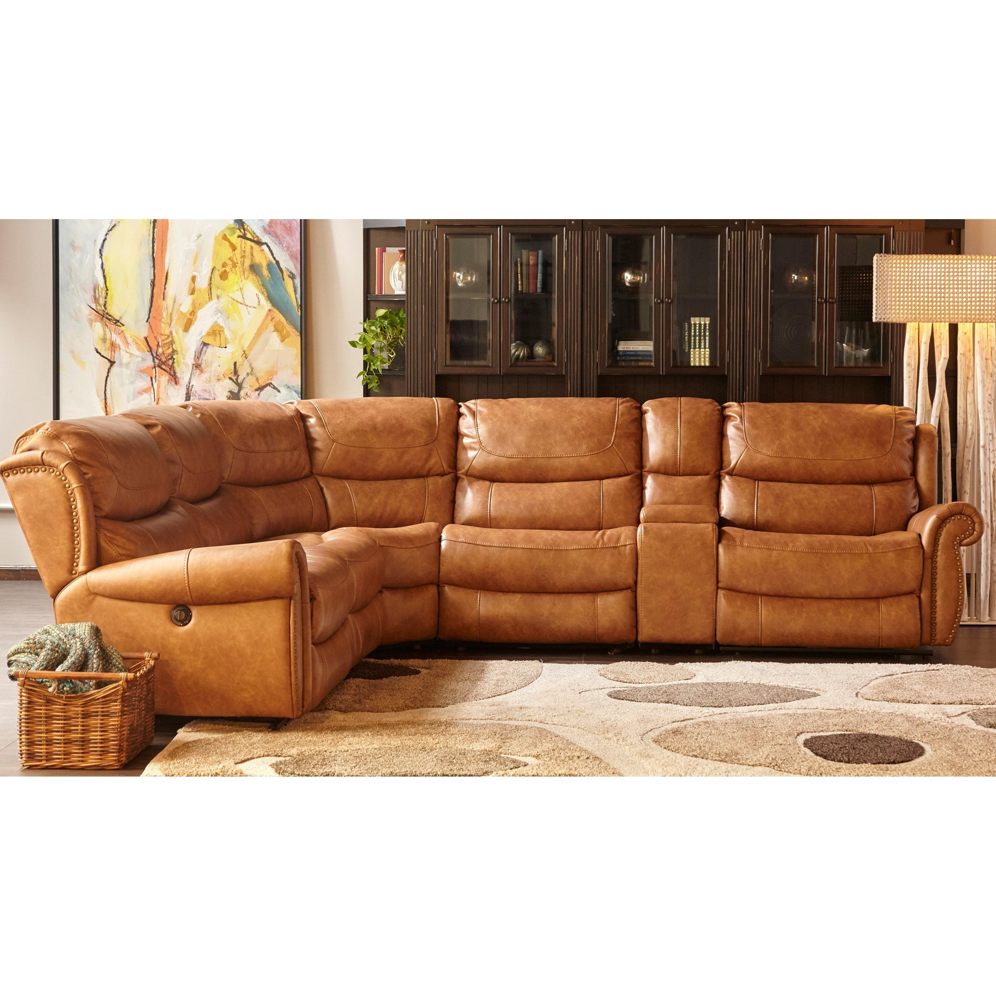 Cheers Sofa XW1012M QS Power Reclining Sectional With USB Port Part 40