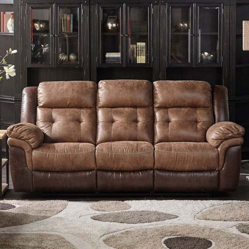 Cheers Sofa 5156m Motion 2 Tone Dual Two Reclining