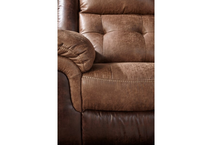 Cheers 5156m Motion 2 Tone Dual Two Tone Reclining Sofa
