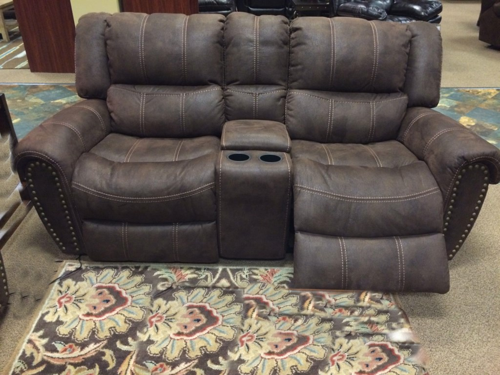 Cheers Sofa Xw9507m 374 Casual Power Reclining Loveseat With  ~ Sofa Recliner With Console