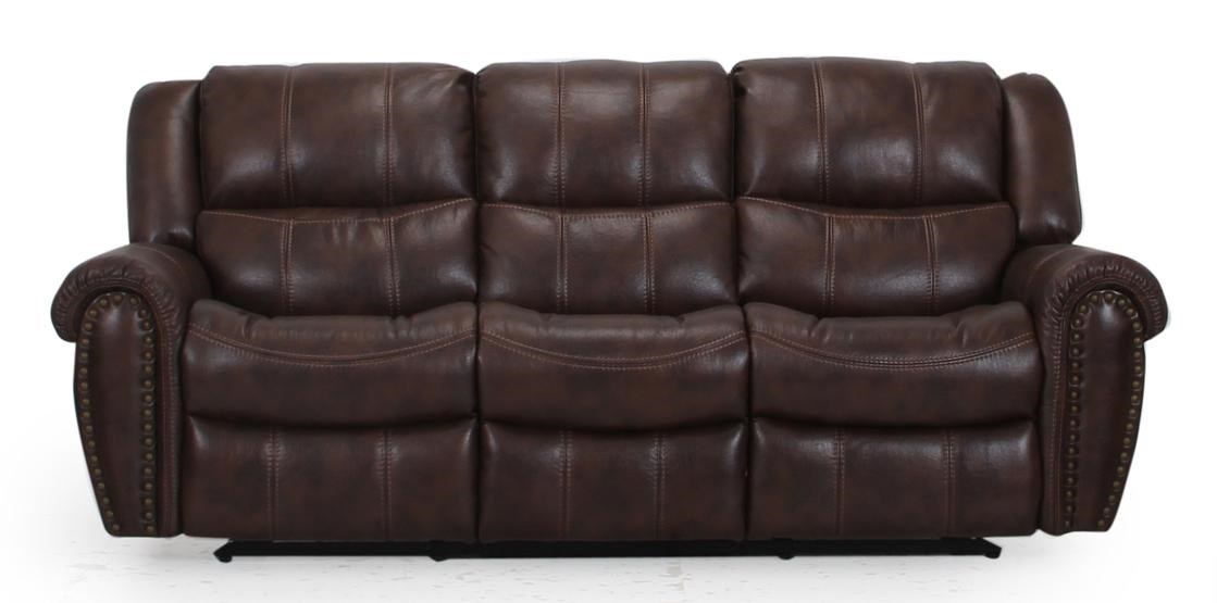 Cheers Sofa XW9507M Casual Reclining Sofa With Nailhead Trim