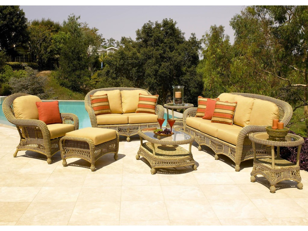 Shown with Chair, Ottoman, Loveseat, Coffee Table, & End Table