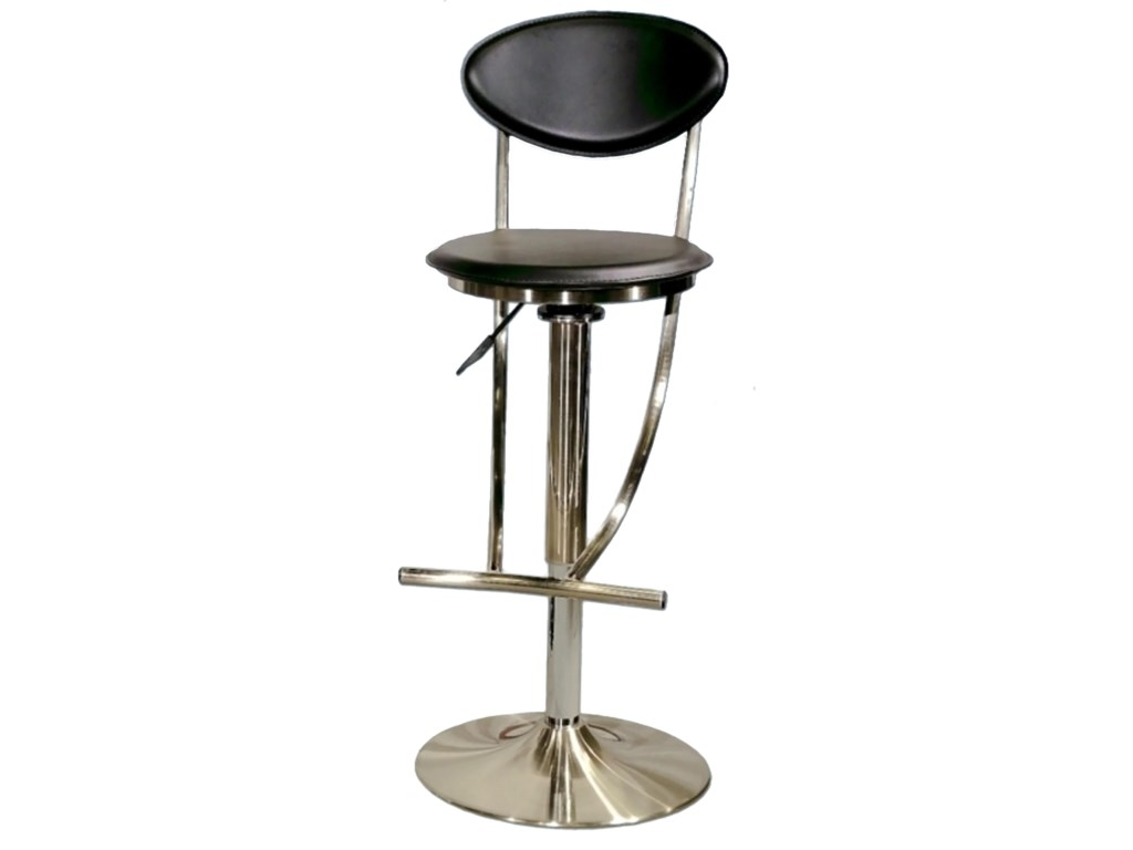 Chintaly Imports 6000 SeriesAdjustable Height Swivel Stool
