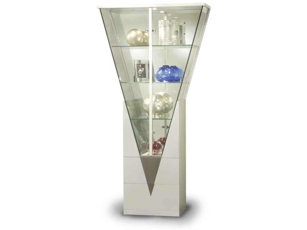 Chintaly Imports CuriosTriangle Shaped Curio