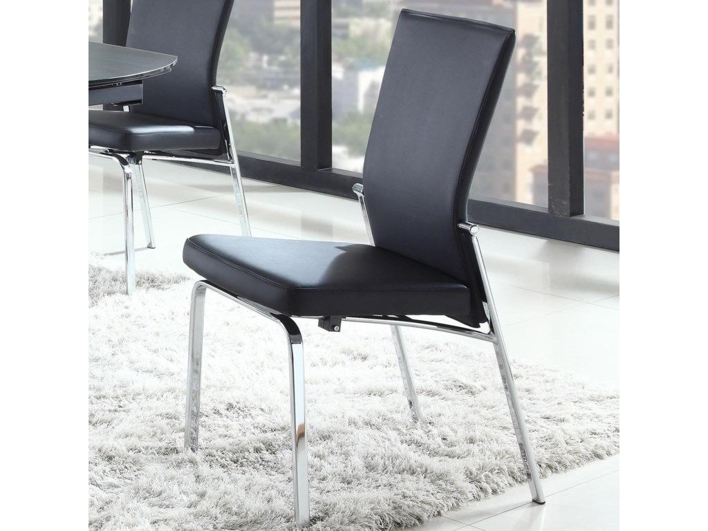 Chintaly imports gracemolly motion back side chair