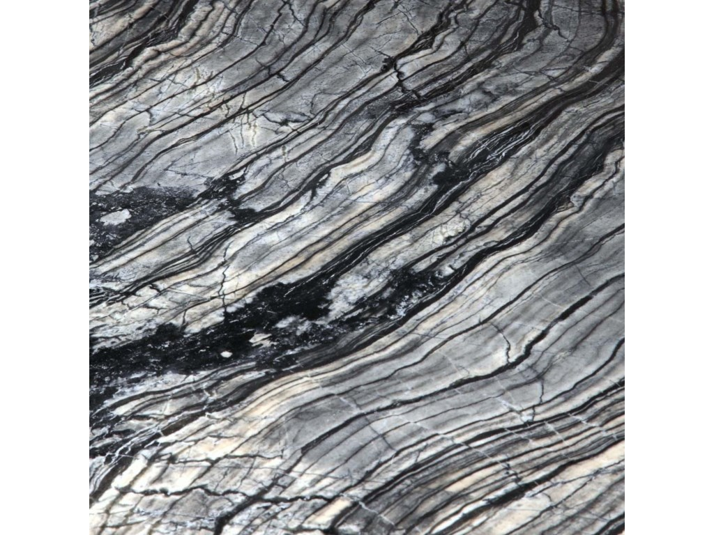 Detailed View of Grey Marble Top