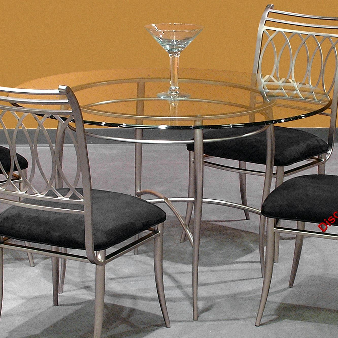 Chintaly Imports Julia Metal Dining Table