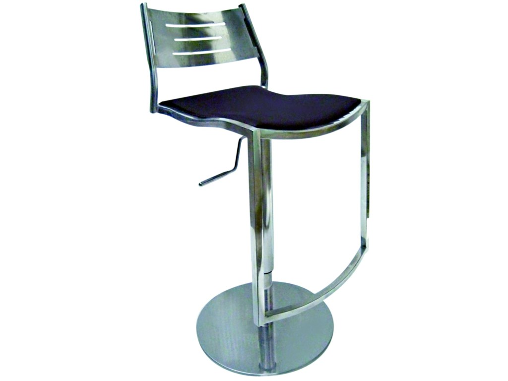 Chintaly Imports Stools Adjustable Height Swivel Stool