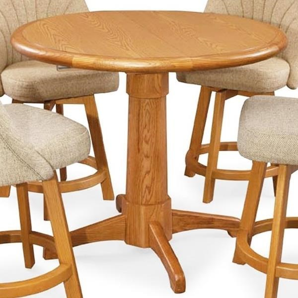 Chromcraft Custom Dining Counter Height Table With Leaf