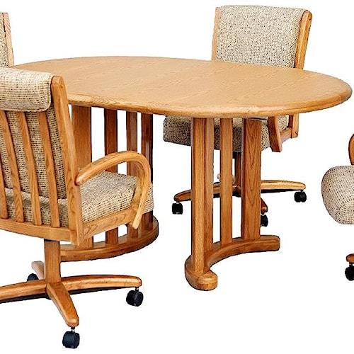 Chromcraft Custom Dining Oval Dining Table