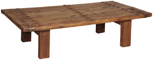 Classic Home 51003 Trinity Old Door Coffee Table