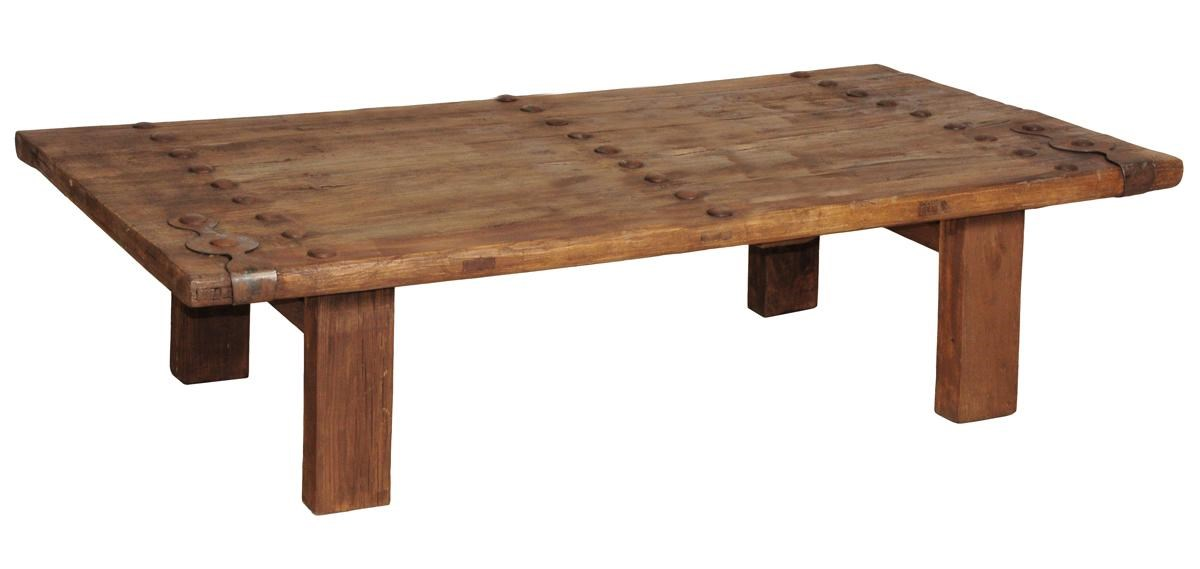 51003 51003210 Trinity Old Door Coffee Table By Classic Home