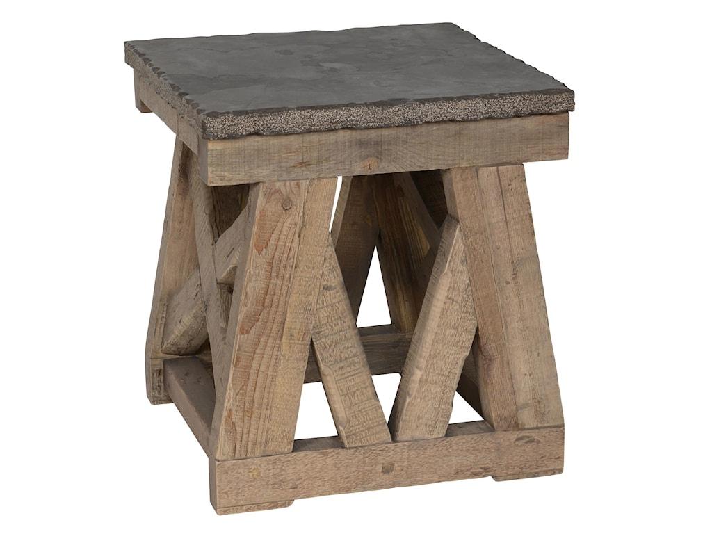 Classic Home/Villa Home Collection MarbellaStone Top End Table