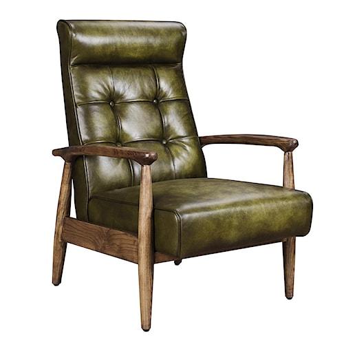 Classic Home Murphy Green Club Chair