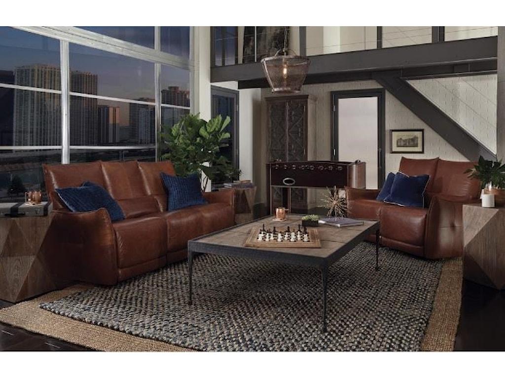 Classic Home Amsterdam2 PC Power Reclining Living Room Set