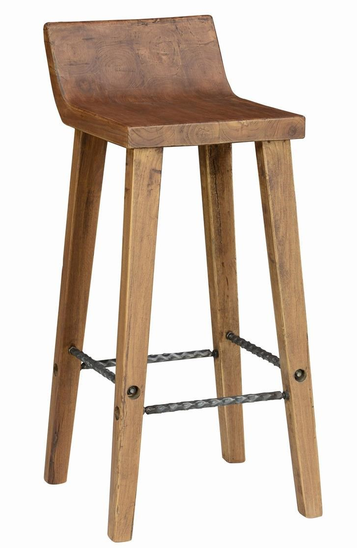 Picture of: Classic Home Arturo 53003520 Practical Low Back Bar Stool With Iron Footrest Sam Levitz Furniture Bar Stools
