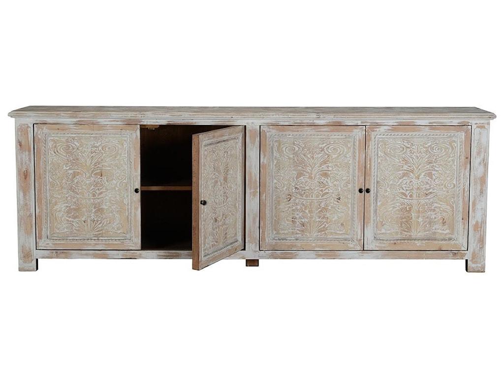 Classic Home Cortland4 Door Sideboard