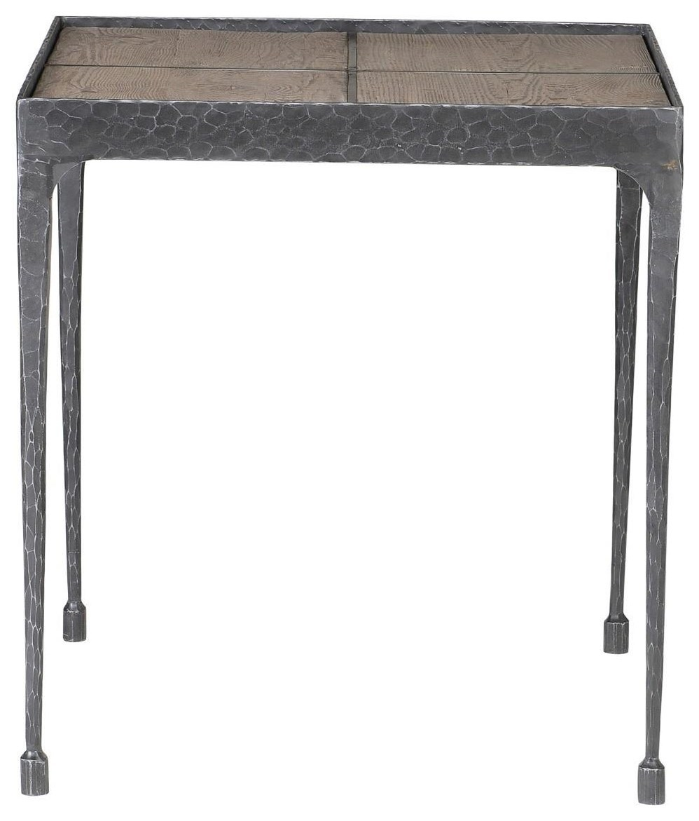 Classic home furniture reclaimed wood Decamino Classic Home Cromwell Reclaimed Pine End Table With Iron Base Howell Furniture Classic Home Cromwell Reclaimed Pine End Table With Iron Base