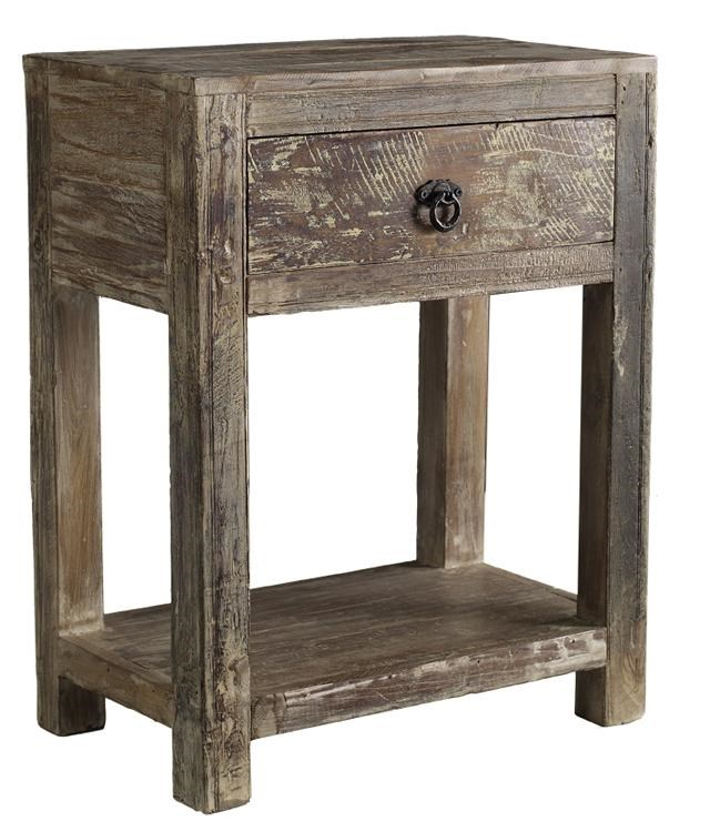 Hampton 51001264 1 Drawer End Table By Classic Home
