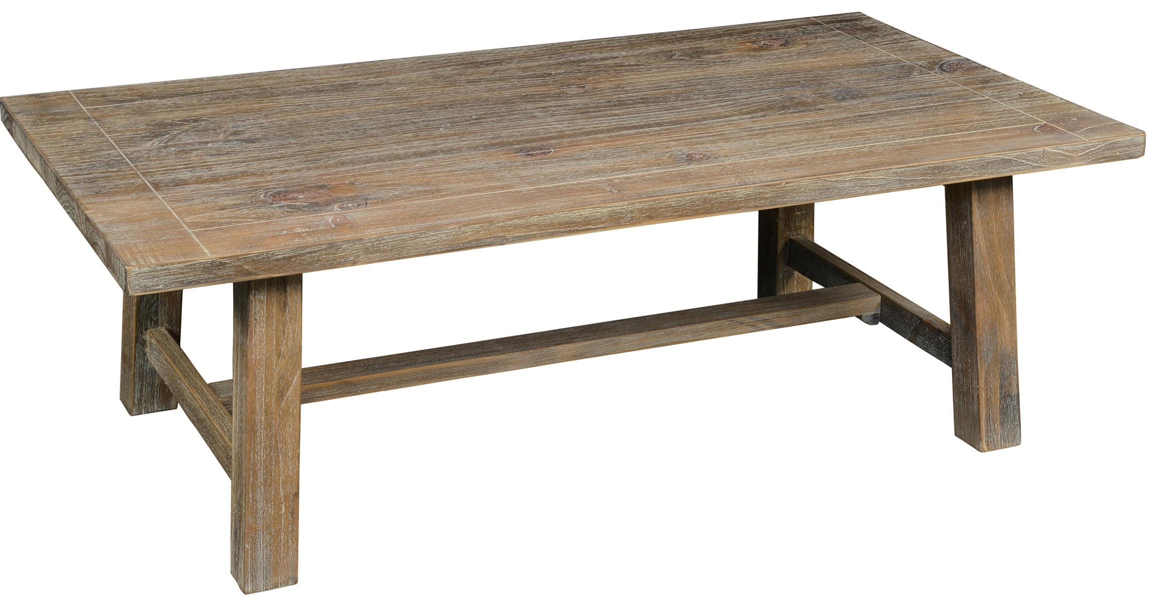 Attrayant Maxwell Pine Coffee Table With Trestle Base By Classic Home