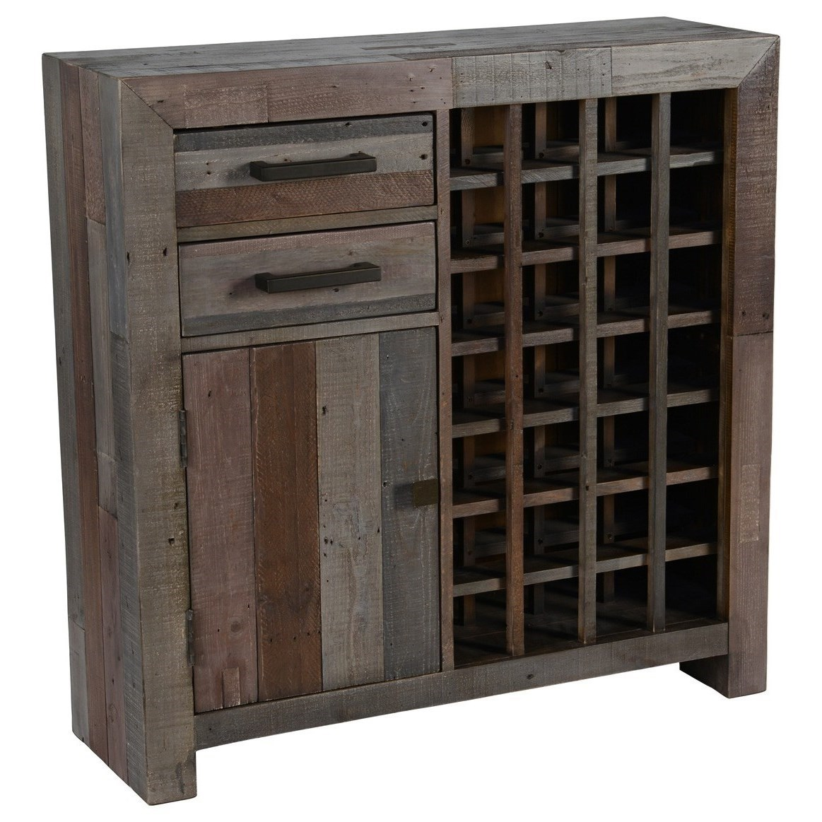 classic home furniture reclaimed wood. classic home omni storm transitional reclaimed pine wood wine cabinet with storage john v schultz furniture rackswine cabinets