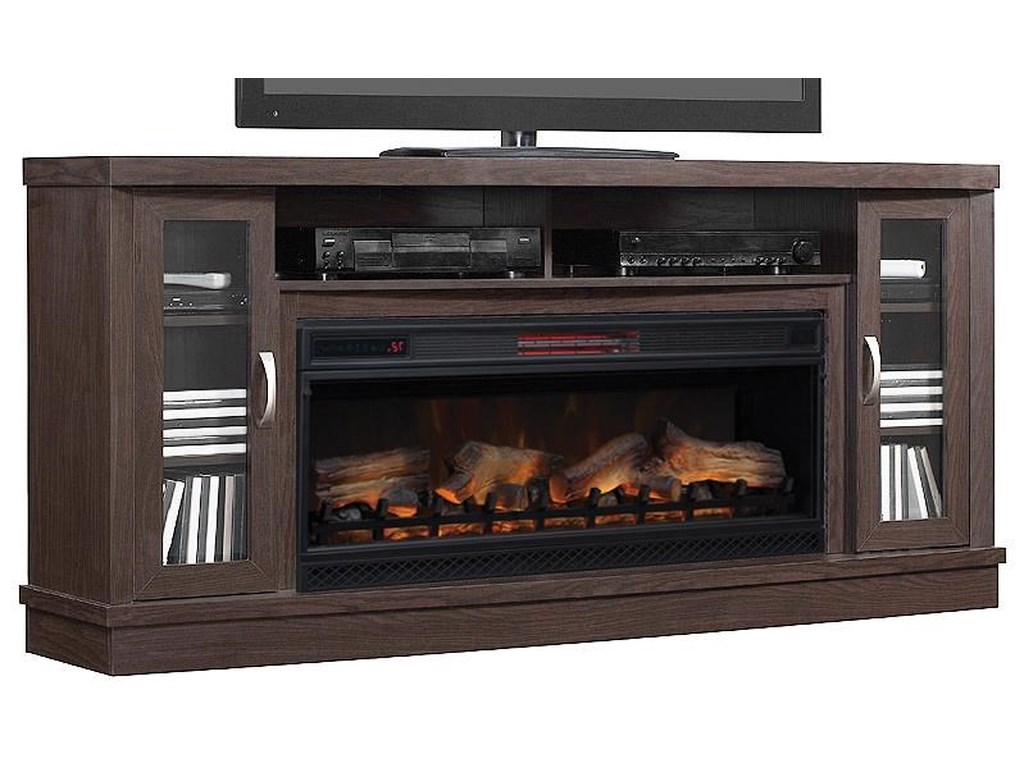 ClassicFlame Hutchinson CollectionFireplace media console