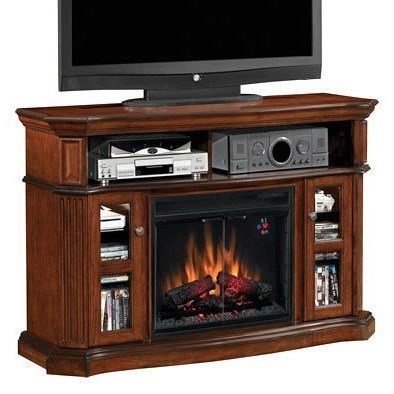 Classicflame Aberdeen Aberdeen Electric Fireplace Media Cabinet With