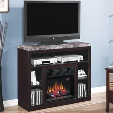 ClassicFlame AdamsMedia Mantel Fireplace
