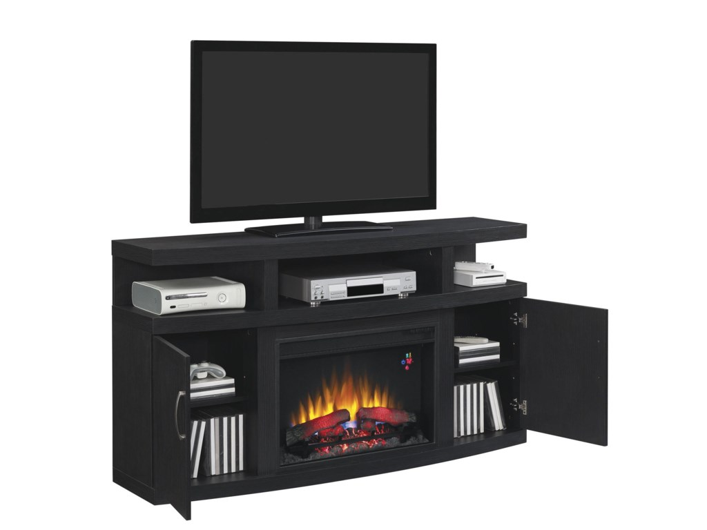 ClassicFlame CantileverMedia Mantle
