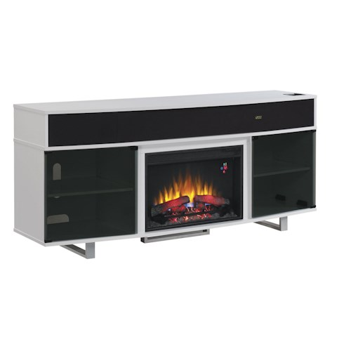 Classicflame Enterprise 72 Fireplace Media Mantel Beck 39 S Furniture Tv Stands Sacramento