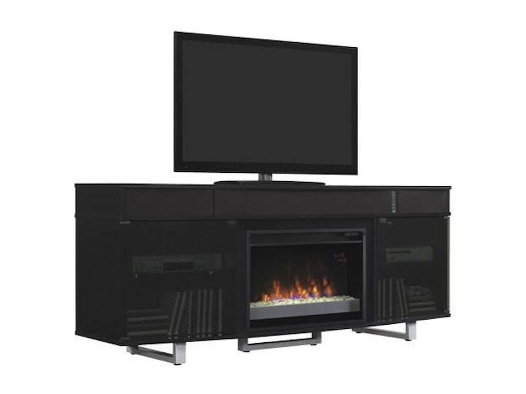 ClassicFlame EnterpriseMedia Mantel Fireplace