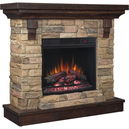 "23"" Wall Mantel Fireplace"