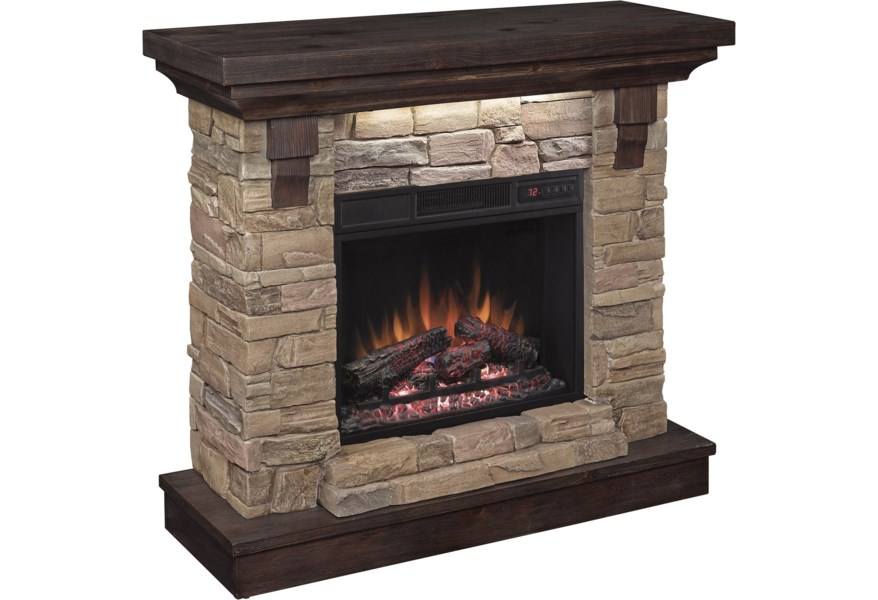 Classicflame Eugene 23 Wall Mantel Electric Fireplace Morris